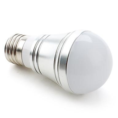 billige Elpærer-1pc 3.5 W LED-globepærer 200-250LM E26 / E27 9 LED perler SMD 5730 Varm hvit Kjølig hvit Naturlig hvit 110-240 V 12 V