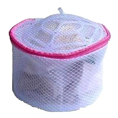 violet pungă de lenjerie de corp pliabilă de lenjerie de corp cu fermoar și fermoar