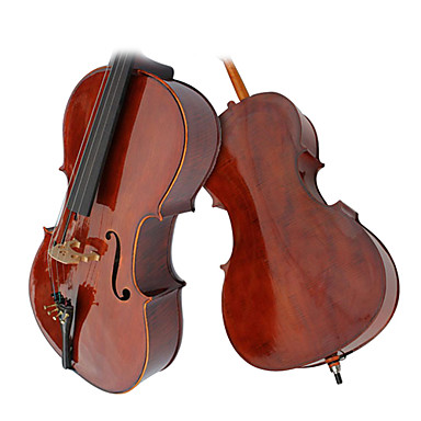 Glossy Aged Spruce Cello with Stand