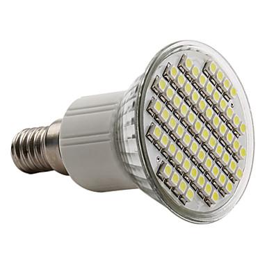6000lm E14 LED Spotlight PAR38 60 LED Beads SMD 3528 Natural White 220-240V