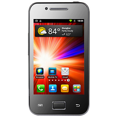 Geniuses - 3G Android 2.3 Smartphone with 3.5 Inch Capacitive Touchscreen (Dual SIM, GPS, WiFi,TV)