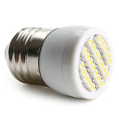 1.5w e26 / e27 condus lumina reflectoarelor 24 smd 3528 120-150lm cald alb 2800k ac 220-240v