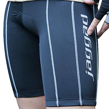 Jaggad Bărbați Pantaloni Scurți cu Burete Bicicletă Pantaloni scurți / Pantaloni Scurți Padded, Uscare rapidă, Respirabil, Dungi
