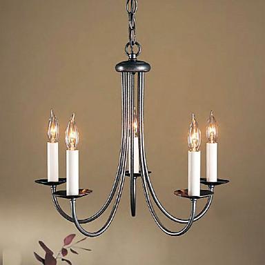 traditionnel classique style bougie lustre lumi re dirig e. Black Bedroom Furniture Sets. Home Design Ideas