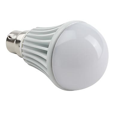 B22 W 3 High Power LED 450 LM Natural White A Globe Bulbs AC 85-265 V