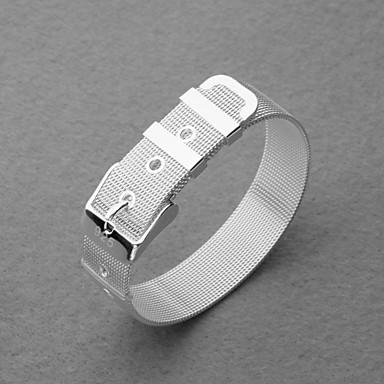 Gorgeous Silver Plated Watch Belt Unisex Bracelet