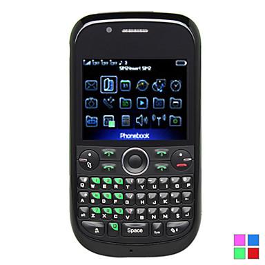 S625 - quatre sim de téléphone portable avec clavier azerty (TV, FM)