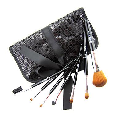 brandneuen 7-tlg Mini Kunstfaser Starter Kit Make-up Pinsel