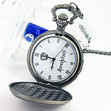 Ceas/Ceas de Mână Inspirat de Black Butler Ciel Phantomhive Anime Accesorii Cosplay Ceas/Ceas de Mână Aliaj Bărbați nou