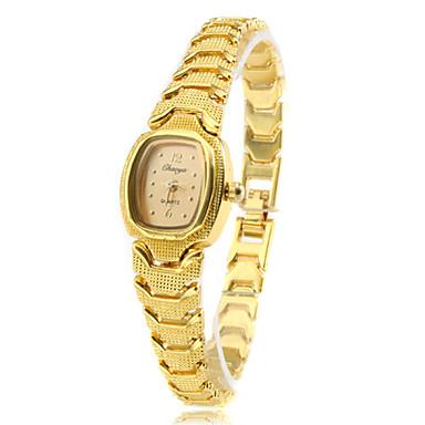 Dámské Módní hodinky Náramkové hodinky Křemenný Kapela Retro Elegantní Zlatá Zlatá