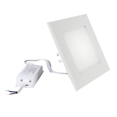 12w SMD 850-73x3014 950lm 2800-3300K blanc chaud Ampoule carré plafond conduit (85-265v)
