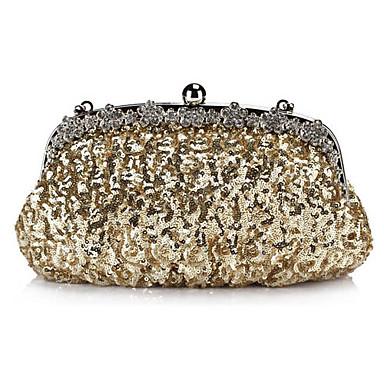 Fabelagtig Satin med pailletter og Krystaller Evening Handbag / Koblinger (Flere farver)
