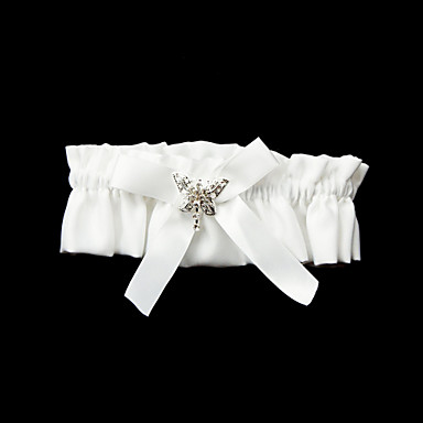 Polyester Satin Wedding Garter with Bowknot Wedding AccessoriesClassic Elegant Style