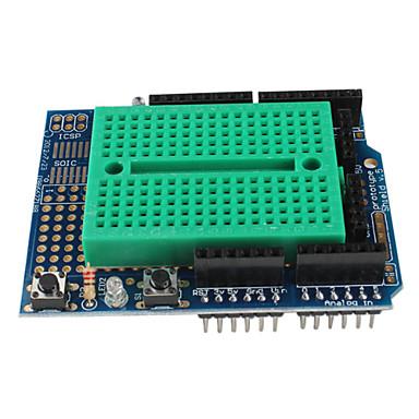 prototip (Arduino için) (Protoshield) mini breadboard ile kalkan