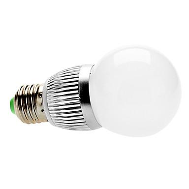 Bombillas Globo Regulable E26/E27 3 W 3 LED de Alta Potencia 300 LM 3000K K Blanco Cálido AC 100-240 V