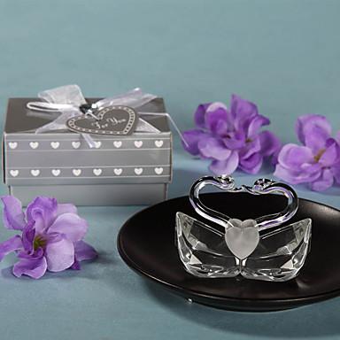 Κρύσταλλο Κρυστάλλινα αντικείμενα Νύφη / Κορίτσι Λουλουδιών / Διακομηστής Δαχτυλιδιών Γάμου / Γενέθλια / Νεό Μωρό -