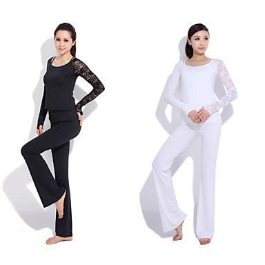 Yoga casual sportswear Suits 3 sets (met lange mouwen Yoga T-shirt + Yoga Pants)
