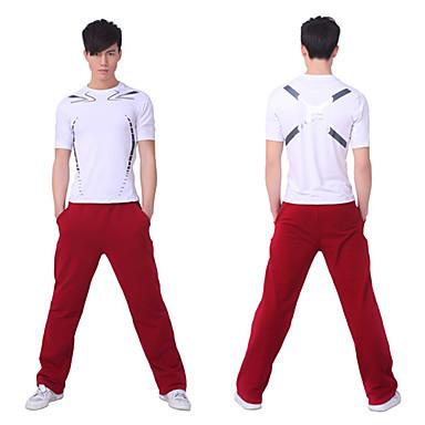 Yoga homens SiBoEn de fitness ternos roupas de ginástica dois conjuntos (camisas Yoga + calça yoga)