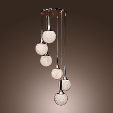 Pendant Light Ambient Light - Mini Style, Globe Modern / Contemporary, 110-120V 220-240V Bulb Not Included