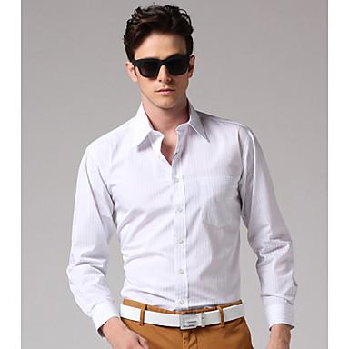 GOODFUTURE-Men's 100%Cotton Gentle Shirt(White)