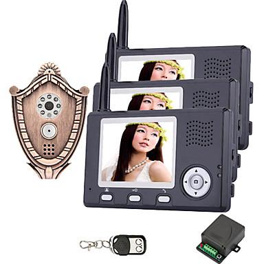 Wireless 3.5 inch TFT Screen Digital Door Viewer(3 monitors)