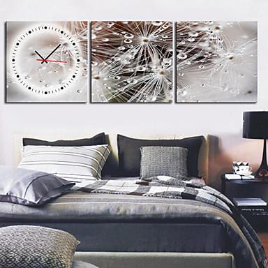 současný scénický nástěnné hodiny v plátně 3ks k0027