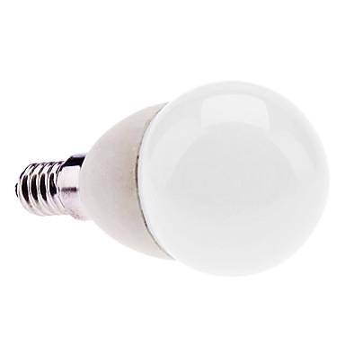E14 2W 170-190LM 6000-6500K Natural White Light Bulb bola de cerâmica LED (85-265V)