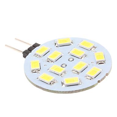 170 lm G4 LED Bi-pin Işıklar 12 LED Boncuklar SMD 5630 Doğal Beyaz 12 V / # / #