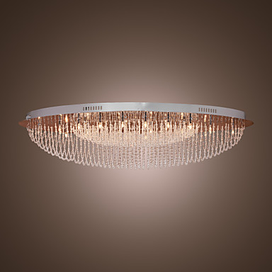 SL® Montaj Flush Lumini Ambientale - Cristal, 110-120V / 220-240V Bec Inclus / G4 / 50-60㎡