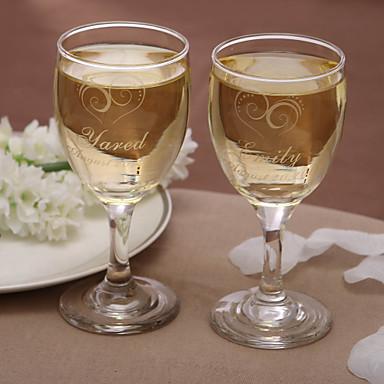Sticlă fără Plumb Prăjire Flutes Cutie de Cadouri Temă Grădină Temă Clasică Iarnă Primăvară Vară Toamnă