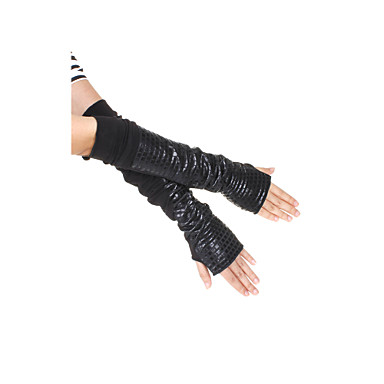 Women's Cotton Fingerless Opera Length Fashion/Party Gloves