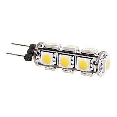 G4 LED-maissilamput T 13 LEDit SMD 5050 Lämmin valkoinen 3000lm 3000KK DC 12V