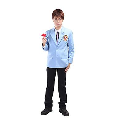 Inspirirana Visoka učilišta Haruhi Fujioka Anime Cosplay nošnje Cosplay Suits / School Uniforms Kolaž Dugih rukava Kaput / Shirt / Hlače Za Muškarci Halloween kostime
