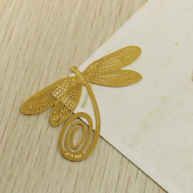 Svatební / Výročí / Štando slitina zinku záložky do knížky a otvírače dopisů Zahradní motiv
