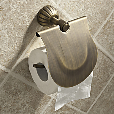 WC-Rollenhalter Antike Messing 1 Stück - Hotelbad