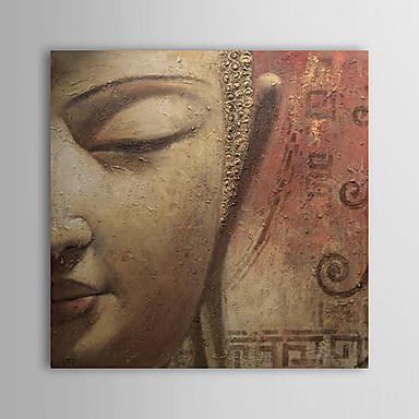 Pictat manual Oameni Pătrat pânză Hang-pictate pictură în ulei Pagina de decorare Un Panou