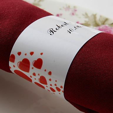 Material Hochzeit Servietten Servietten Serviettenringe Hochzeit Jahrestag Geburtstag Verlobungsfeier Brautparty Heim Quinceañera & Der