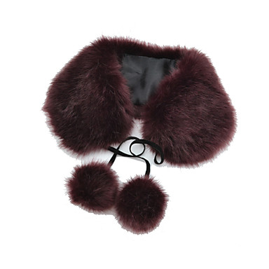 Chic Fax Fur Party/Evening Neck Scarf (More Colors)
