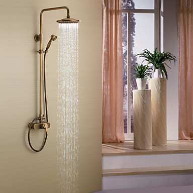 Antique Shower System Rain Shower Handshower ...