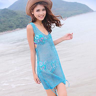 Women's Crochet Sheer Beach Dress