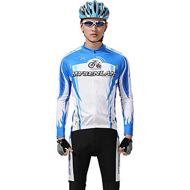 Mysenlan Men's Long Sleeves Bike Clothing Suits
