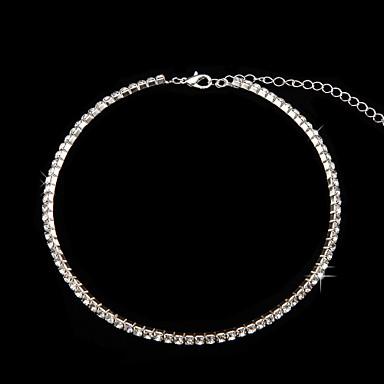 scintille da sposa collana girocollo in cristallo