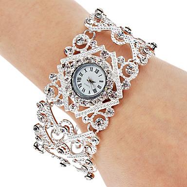 Dame Armbåndsur Modeur Japansk Quartz Bånd Bohemisk Elegant Sølv