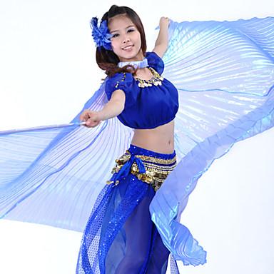 Dans Aksesuarları Sahne Malzemeleri / Bereketin Kanatları Kadın's Performans Polyester / Göbek Dansı