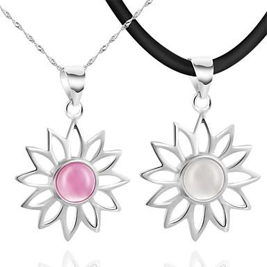 Fashion Silber / ausblenden Rope mit Platin beschichtet Opal Lovers 'Fashion Halskette