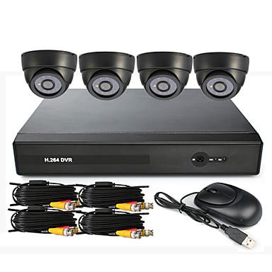4 Channel CCTV DVR System (UPnP, 4 sisäkäyttöön)