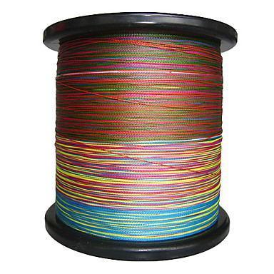 PE-flettet Linje / Dyneema Fiskesnører 2000m / 2200 Yards 100lb 90LB 80LB 0.10/0.12/0.14/0.20/0.23/0.26/0.28/0.34/0.37/0.40/0.45/0.50/0.55/0.60 mm / 70LB / 60LB / 50LB / 40LB / 35LB