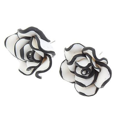 Pentru femei Cercei Stud Aliaj Trandafiri Floare Bijuterii Zilnic