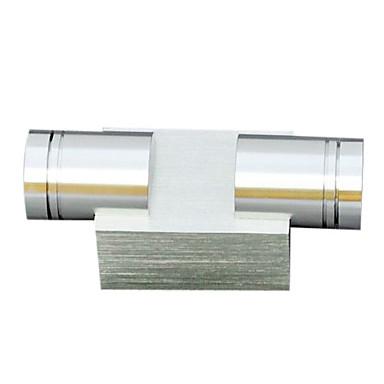 Duvar ışığı Ortam Işığı 2W 90-240V Birleştirilmiş LED Modern / Çağdaş Eloktrize Kaplama
