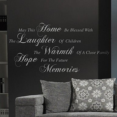 Může to Home Wall Sticker